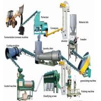 Линия переработки навоза, помета, пищевых отходов для производства органического удобрения